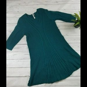 NY collection petite large sweater dress